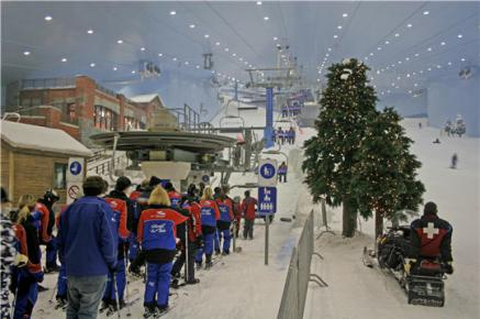 SKI DUBAI – MALL OF EMIRATES